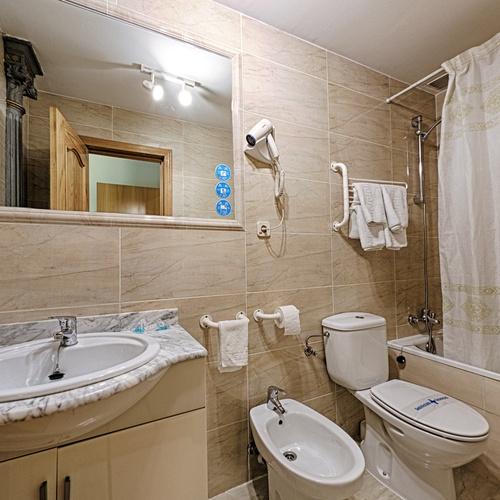 Salle de bain Hostal San Lorenzo
