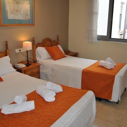 Chambre triple Hostal San Lorenzo