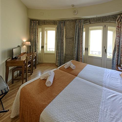 Chambre double Hostal San Lorenzo