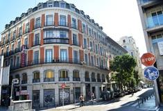 Façade hotel san lorenzo madrid