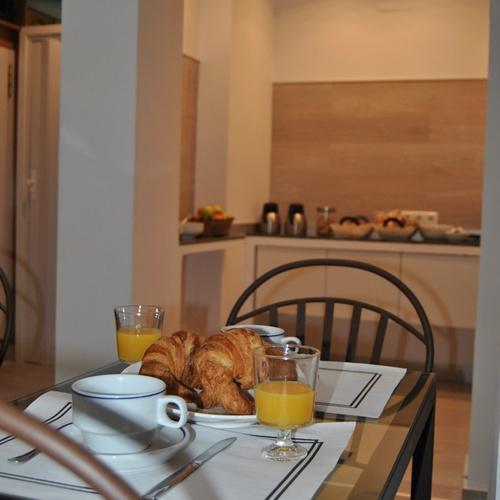 Petit déjeuner Hostal San Lorenzo