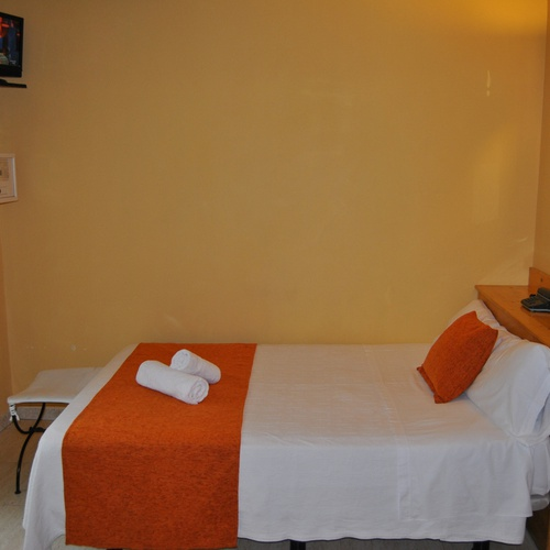 Chambre individuelle Hostal San Lorenzo